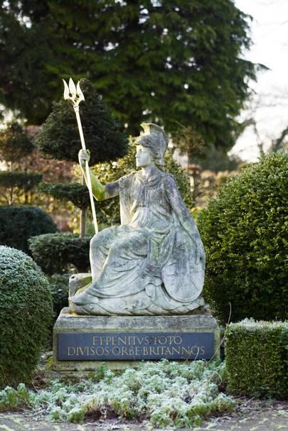 Britannia Statue