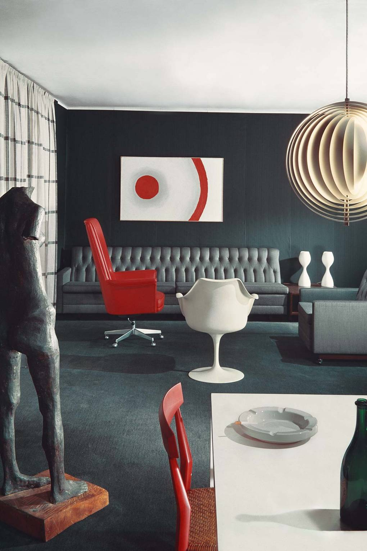 Sixties Living Rooms Interior Design Inspiration House Garden