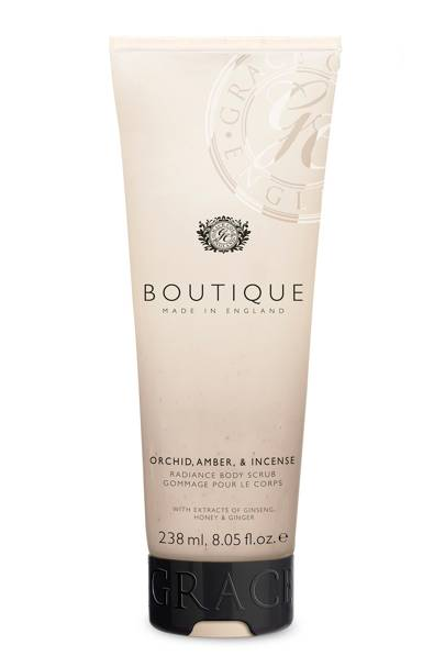 August 4: Boutique Orchid, Amber & Incense Body Scrub, £5