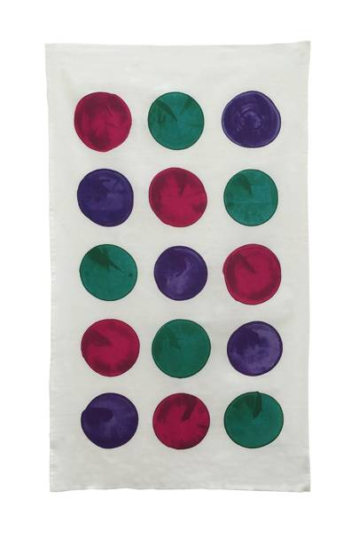 October 14: Erskine Rose Quinze Tea Towel, £15