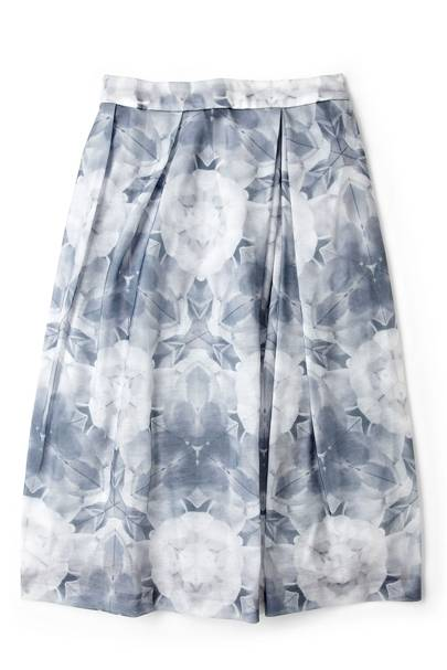Kaleidoscope Floral-Printed Skirt
