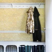 Textured Wall Cloakroom