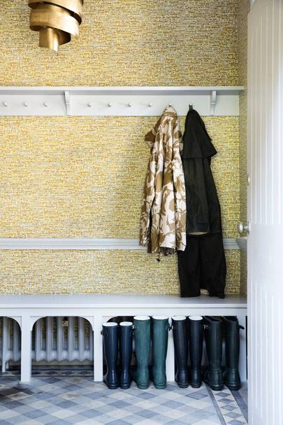 Cloakroom - Somerset Country House