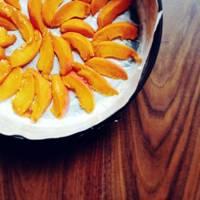 Apricot, almond and buckwheat cake