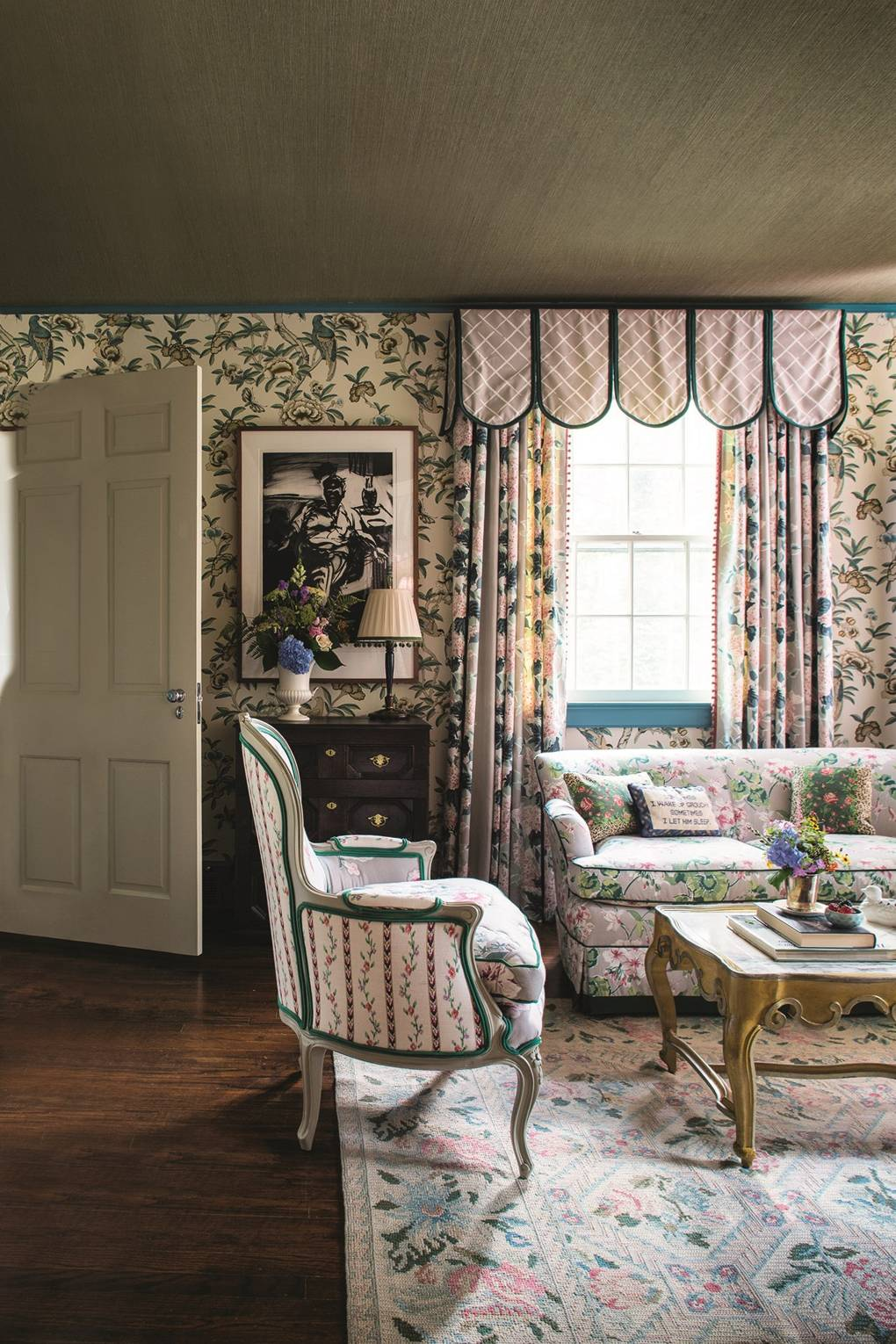 Colorful Interior Arrangements From John Loecke