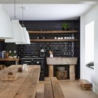 Glossy Black Wall Tiles