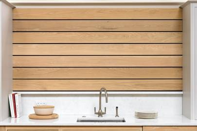 Functional Wood Wall Slats
