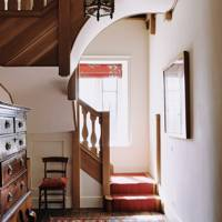 Staircase - Restored Georgian House in Somerset