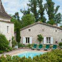 French farmhouse swimming pool