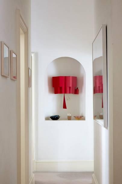 Corridor - An Art Collector's Bold House | Real Homes