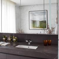 Monochrome Marble Bathroom