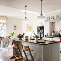 Kitchen - Traditional Hampshire Country House