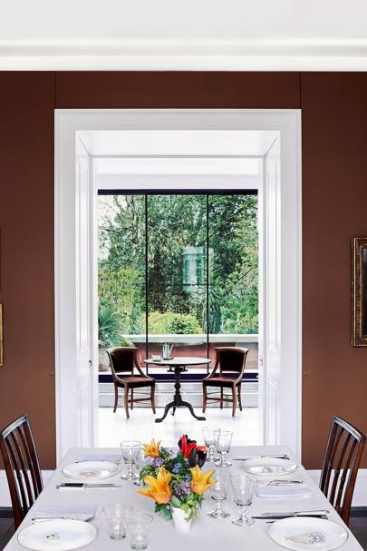 Dining Room to Kitchen - Charles Rutherfoord London House