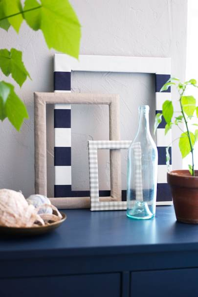 Get Arty with Old Picture Frames