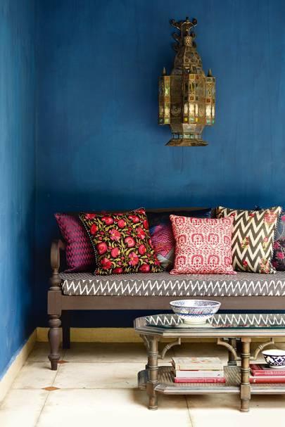 Garden Bench - Colours of India