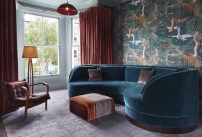 A sitting room by Rachel Chudley