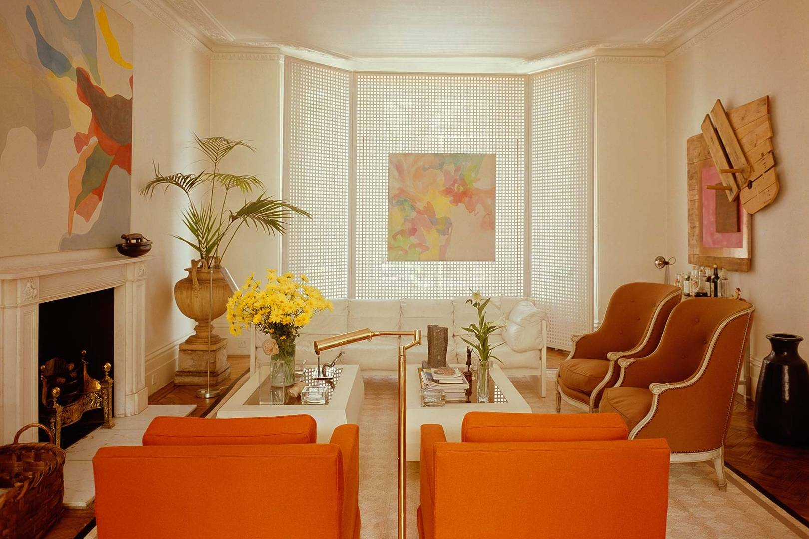Sixties Living Rooms Interior Design Inspiration House Garden