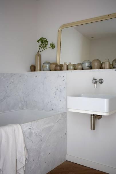Bathroom - Anna Valentine's Bright London Flat