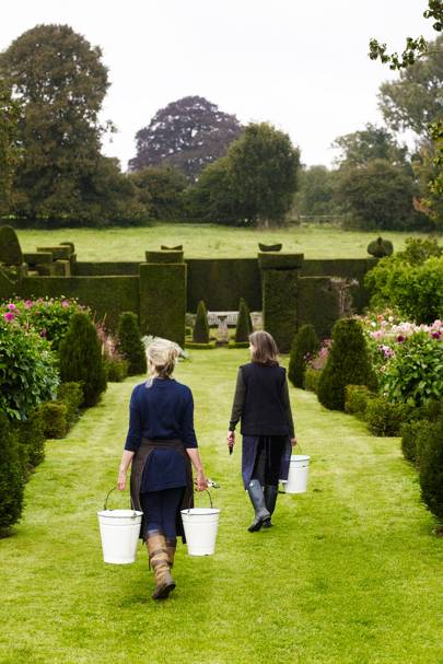 The Land Gardeners - An English Flower Garden