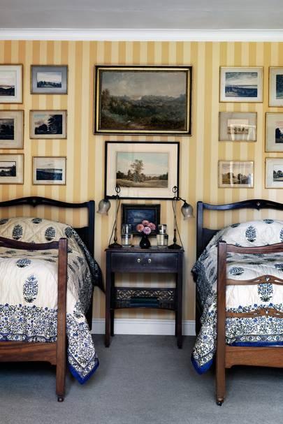 Cadland Room Quilts