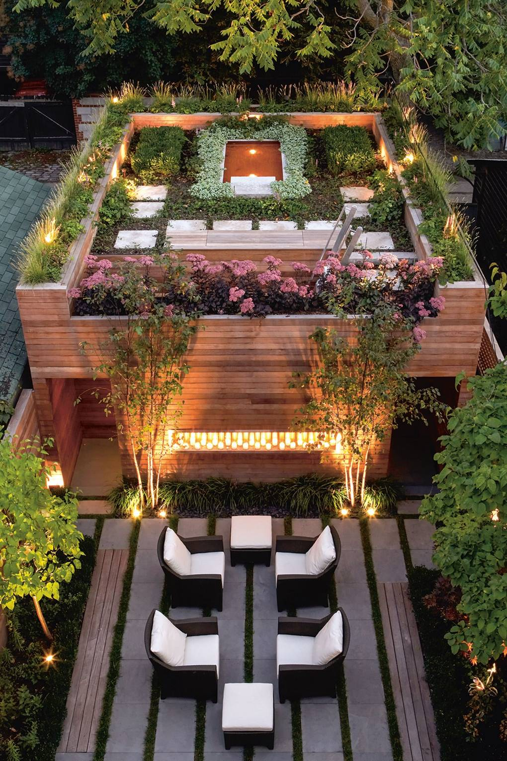 Roof Garden Design Ideas House Garden