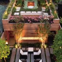 Elaborate Roof Garden Complex
