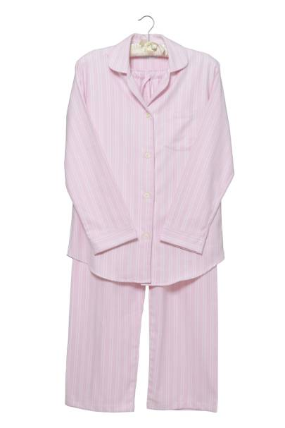December 29: Cologne & Cotton Pink Stripe Brushed Cotton Pyjamas, Medium, £69