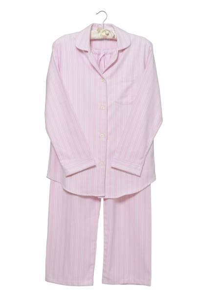 December 29: Cologne & Cotton Pink Stripe Brushed Cotton Pyjamas, Medium, £69