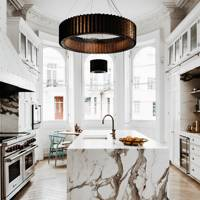 White Kitchen Statement Light