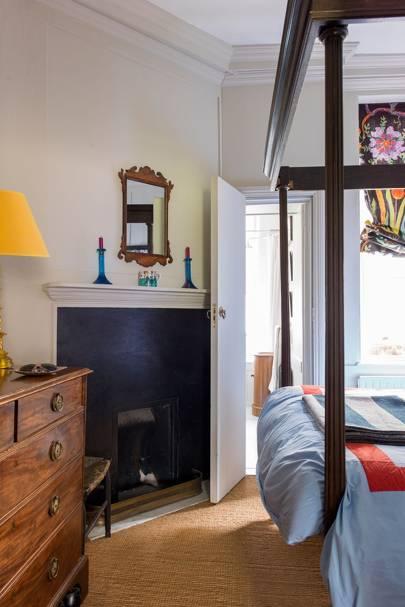 Great Ormond Street Flat - The Bedroom