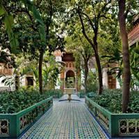 Moroccan Tiled Courtyard, Bahia Palace
