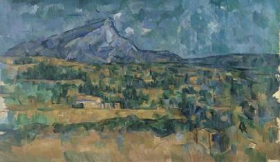 Paul Cézanne, 1839-1906: Mont Sainte-Victoire, c. 1902 - 1906
