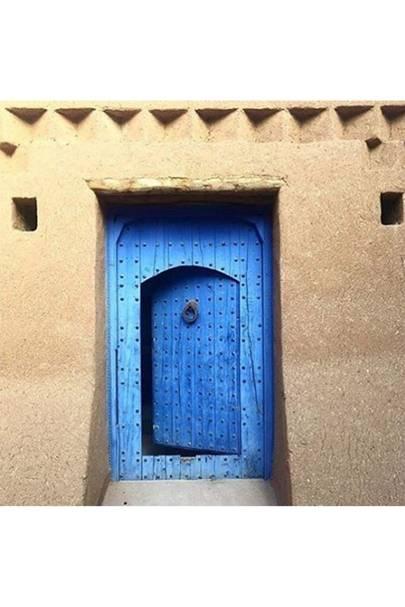 Blue Morocco Door - Door J'adore