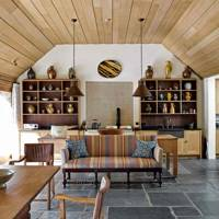 Wood Panelled Ceiling