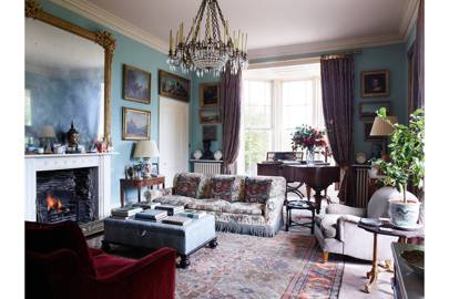 Drawing Room - Traditional Cornwall House