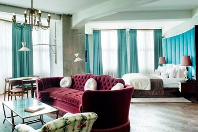 Soho House Berlin: Bedroom