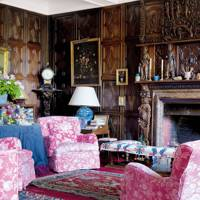 Panelled Sitting Room - Holker Hall