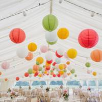 Colourful Hanging Lanterns