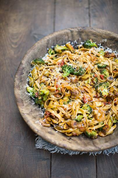 sausage pasta | house & garden