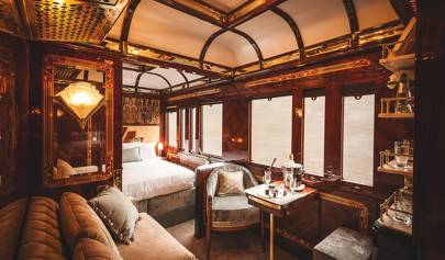 A first look at the sumptuous new private suites on the Orient Express