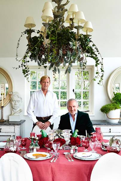 Festive Foliage - Paolo Moschino and Philip Vergeylen - Interior Designers' Christmas Tables | Christmas