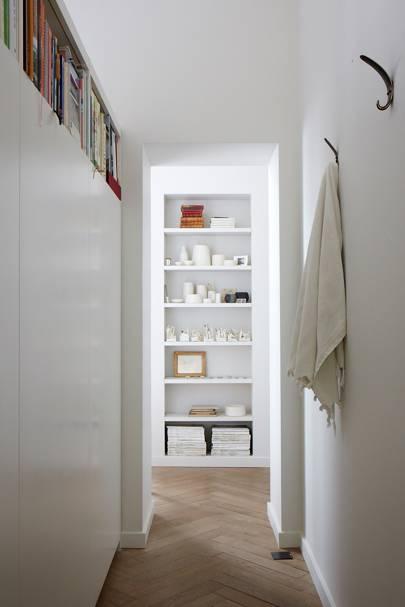 Hallway - Anna Valentine's Bright London Flat