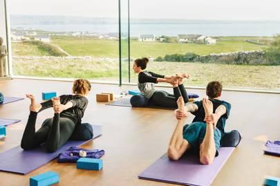 Yoga Retreat Ireland House Garden