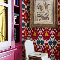 Ikat Wallcovering