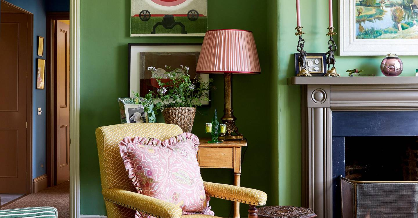 Design Notes: Rita Konig on her comfortable, colourful farmhouse in County Durham