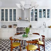 Mid-Century Tile Flooring