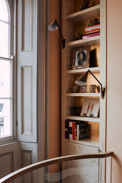 Landing Bookcase - At Home: Maddux Creative London House