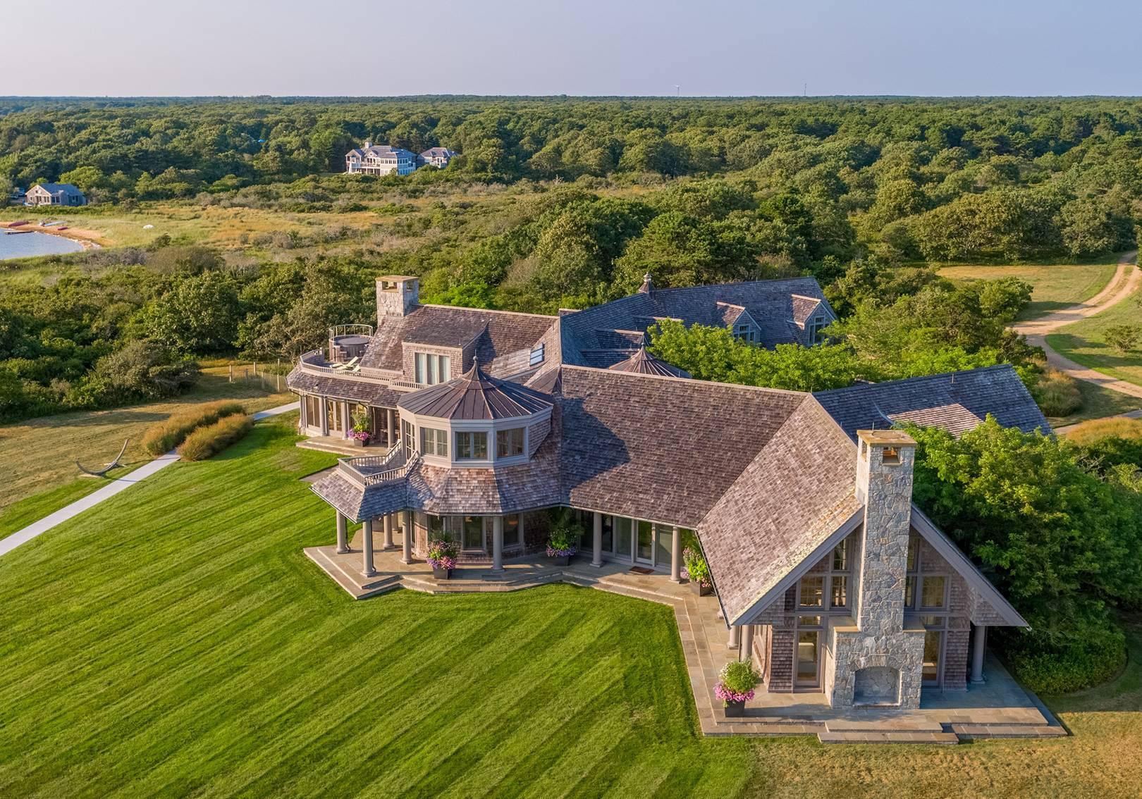 The Obamas' new house on Martha's Vineyard | House & Garden