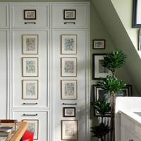 Kitchen Cupboards - Victorian Mansion Flat