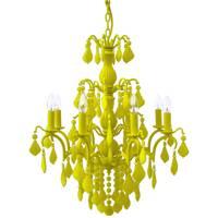 Jasmine 8 Lamp Chandelier